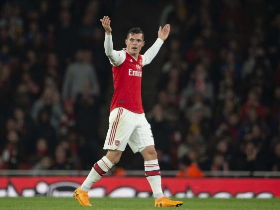 Xhaka has been stripped of the captaincy (Visionhaus)