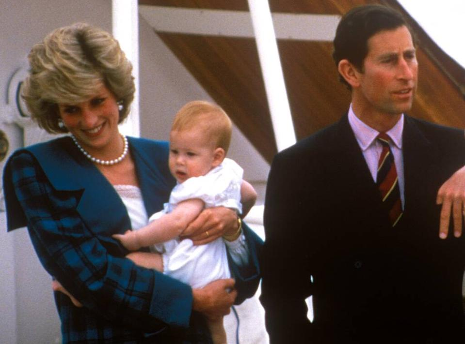 Charles Philip Arthur George, Diana Frances Spencer, Henry Charles Albert David, Prince Charles, Princess Diana, Prince Harry