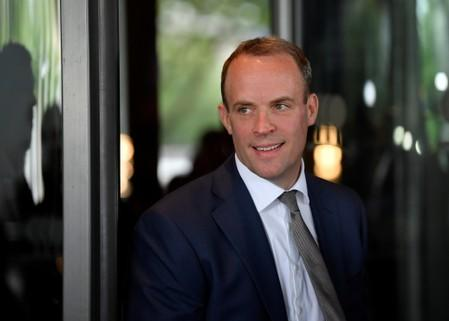 Raab says suspending parliament for Brexit unlikely, will not rule it out