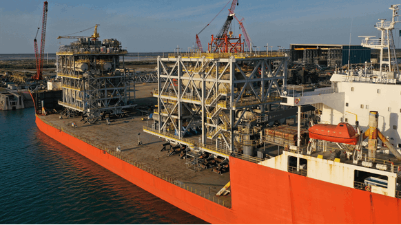 McDermott Ships FPSO Modules from Mexico Yard
