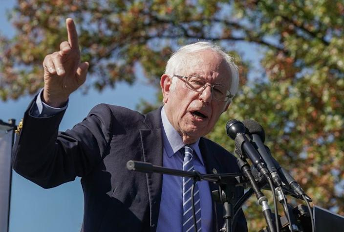 <p>Sanders lost out to Biden in Democratic primary</p> (Getty Images for Care In Action)