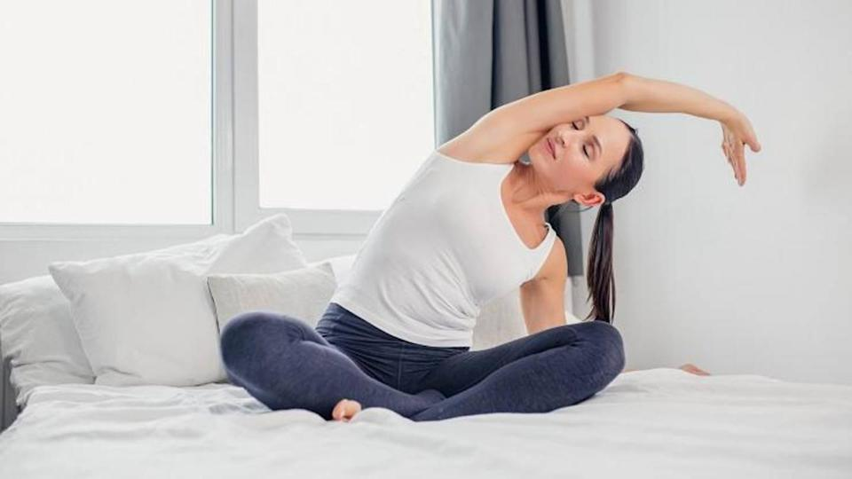 #HealthBytes: Five stretches that can improve your sleep quality