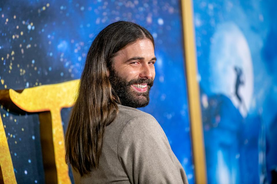 """NEW YORK, NEW YORK - DECEMBER 16: Jonathan Van Ness attends the """"Cats"""" World Premiere at Alice Tully Hall, Lincoln Center on December 16, 2019 in New York City. (Photo by Roy Rochlin/FilmMagic)"""