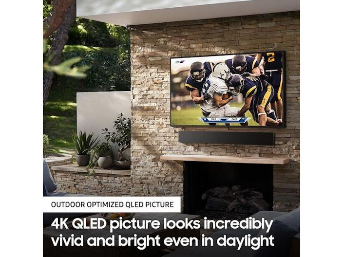 """<p><strong>samsung</strong></p><p>samsung.com</p><p><strong>$4999.99</strong></p><p><a href=""""https://go.redirectingat.com?id=74968X1596630&url=https%3A%2F%2Fwww.samsung.com%2Fus%2Ftelevisions-home-theater%2Ftvs%2Fthe-terrace%2F65-class-the-terrace-qled-4k-uhd-hdr-smart-tv-qn65lst7tafxza&sref=https%3A%2F%2Fwww.menshealth.com%2Ftechnology-gear%2Fg19521968%2Fcool-gifts-for-dad%2F"""" rel=""""nofollow noopener"""" target=""""_blank"""" data-ylk=""""slk:BUY IT HERE"""" class=""""link rapid-noclick-resp"""">BUY IT HERE</a></p><p>Turn dad's backyard paradise into an outdoor version of his man cave with Samsung's The Terrace TV. This outdoor smart TV delivers next-level picture quality, thanks to QLED 4K, and it has an IP55 rating to protect it against dust and water, so he'll never have to worry about summer showers damaging his precious, new 65-inch anti-reflection screen. </p>"""