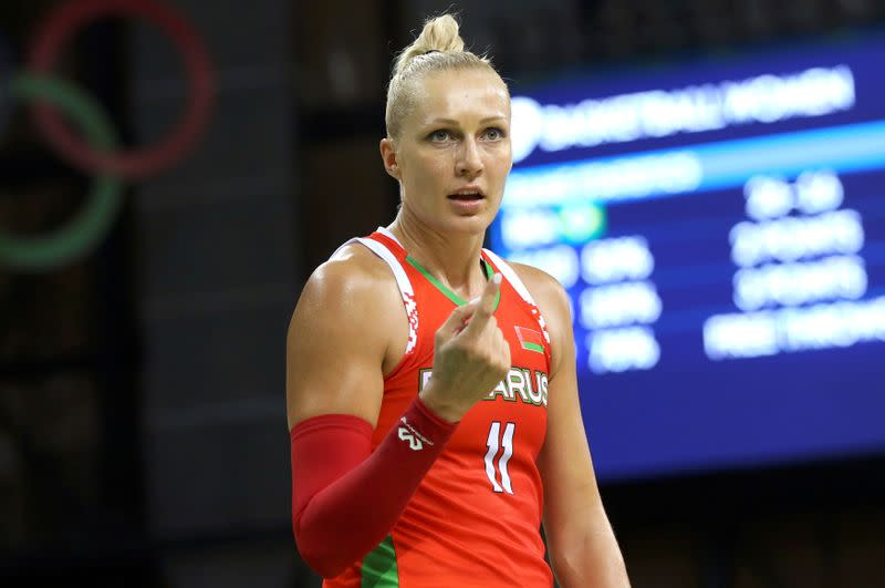FILE PHOTO: Basketball - Women's Preliminary Round Group A Brazil v Belarus