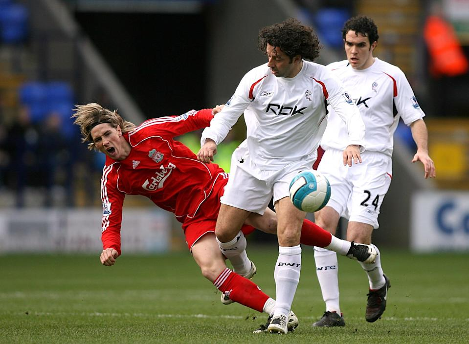 <p>One of Bolton Wanderers' biggest even signings, the mop-haired enforcer was a class act. </p>