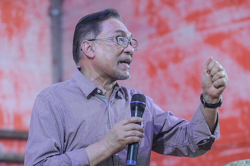 Anwar won the Permatang Pauh seat in 1982 and was the MP for the Penang constituency for a combined period of over two decades. — Picture by Shafwan Zaidon