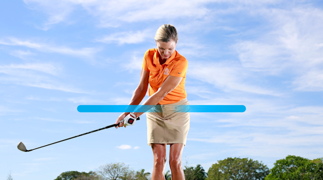 Your new pitch backswing.