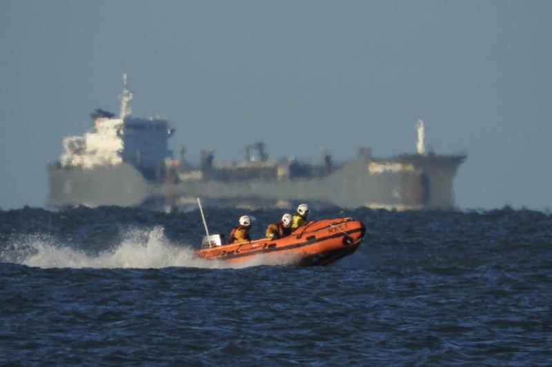 Training exercise St Brides Bay, Pembrokeshire
