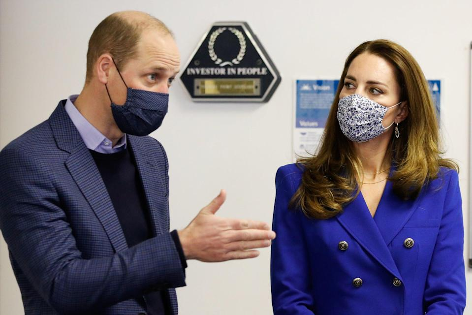<p>The pair toured Turning Point, a charity in Coatbridge Lanarkshire.</p> (Getty Images)