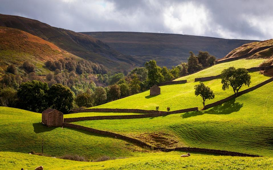 Barns, Muker, Yorkshire Dales - Getty