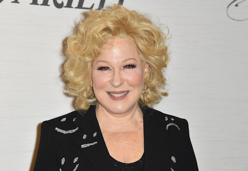 Honoree, singer and actress Bette Midler attends Variety's Power Of Women: New York presented by Lifetime, at Cipriani Midtown on April 5, 2019 in New York City. (Photo by Angela Weiss / AFP) (Photo credit should read ANGELA WEISS/AFP/Getty Images)