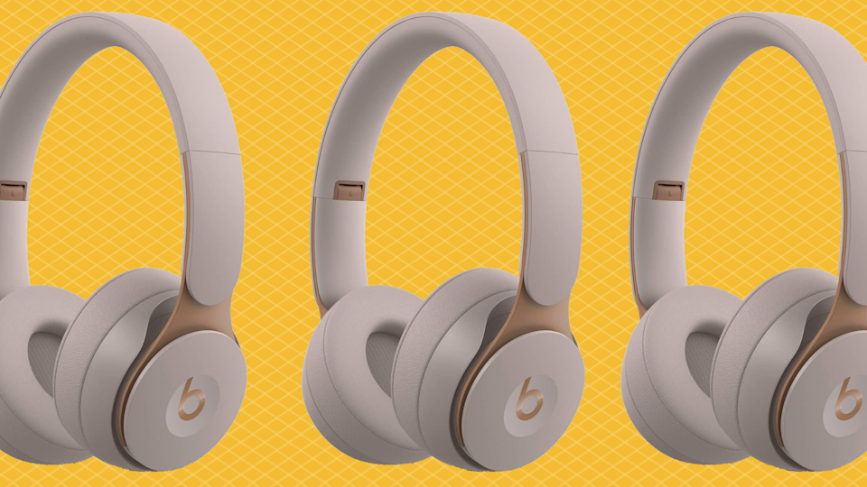 Save over half off these Beats Solo Pro Wireless Noise Cancelling Headphones. (Photo: Amazon)