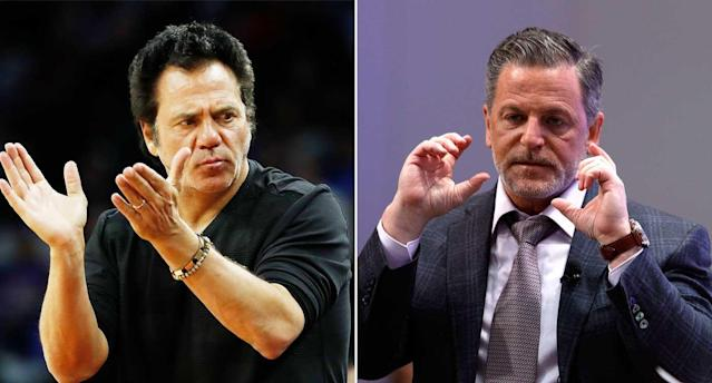 Pistons owner Tom Gores and Cavaliers owner Dan Gilbert would be a powerful 1-2 punch in MLS. (Getty Images)