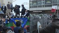 Chile installs historic constitutional convention amid protests