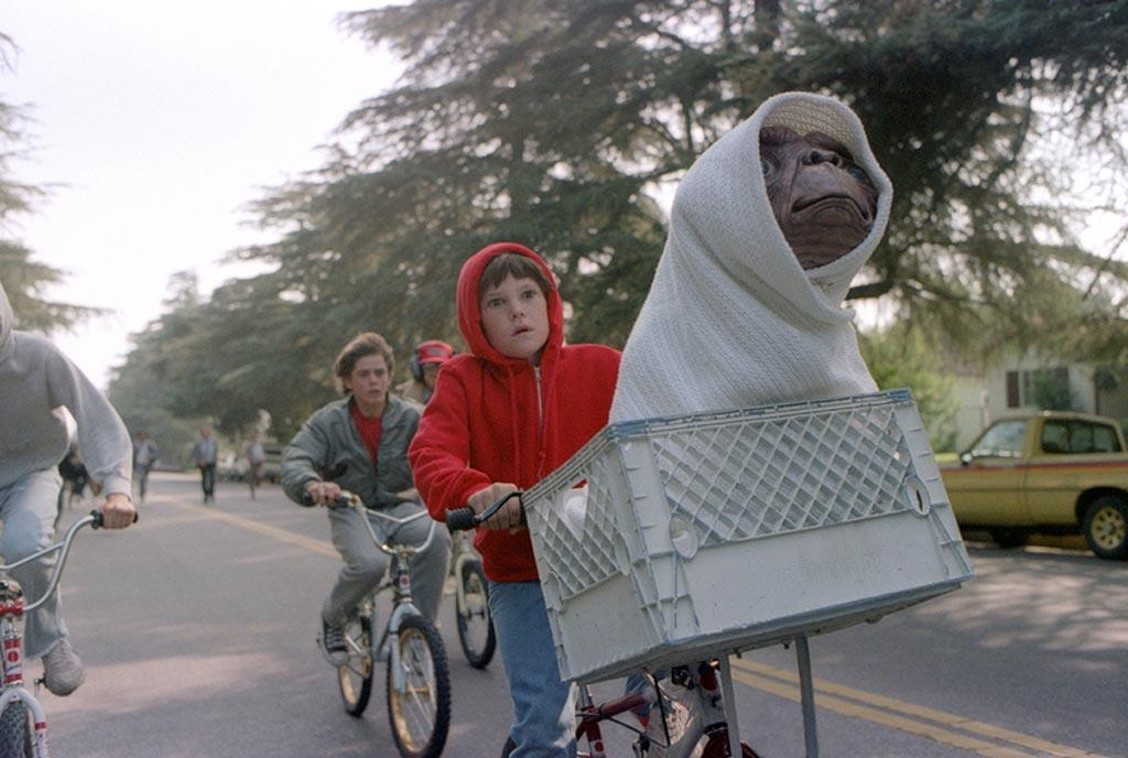 """<a href=""""http://movies.yahoo.com/movie/1800060404/info"""">E.T. The Extra-Terrestrial</a> (1982)"""" Maybe it's a nostalgia thing. Maybe it's Spielberg's uncanny knack for conveying the feelings of loneliness and fear that every kid experiences (his parents' divorce is what inspired the movie). But I cry every time. I'm a grown woman -- I'm not afraid to admit it. I know E.T. is going to live, and I know the little alien is going to phone home, and I know the spaceship is going to swoop down to pick him up and take him back to his planet where he belongs. Doesn't matter -- it still gets me. The sweetness of the friendship between Elliott and E.T. and the iconography of the imagery endure nearly three decades later. And of course, there is that sweeping, Oscar-winning Williams score. I'm getting choked up just thinking about it. Pass the Reese's Pieces."""