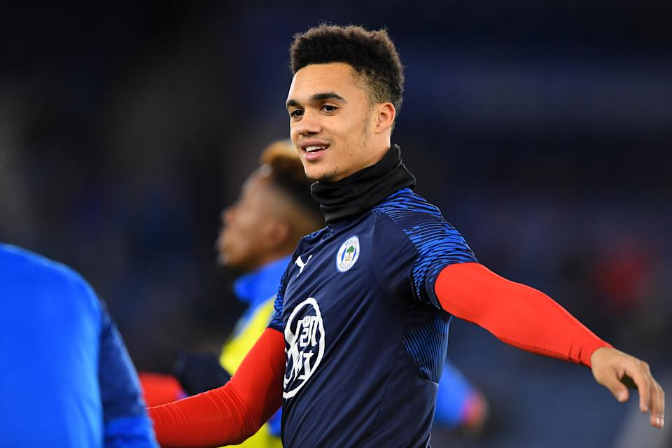 U.S. defender Antonee Robinson will remain with Wigan Athletic after his transfer to AC Milan collapsed on Deadline Day. (Jon Hobley/Getty)