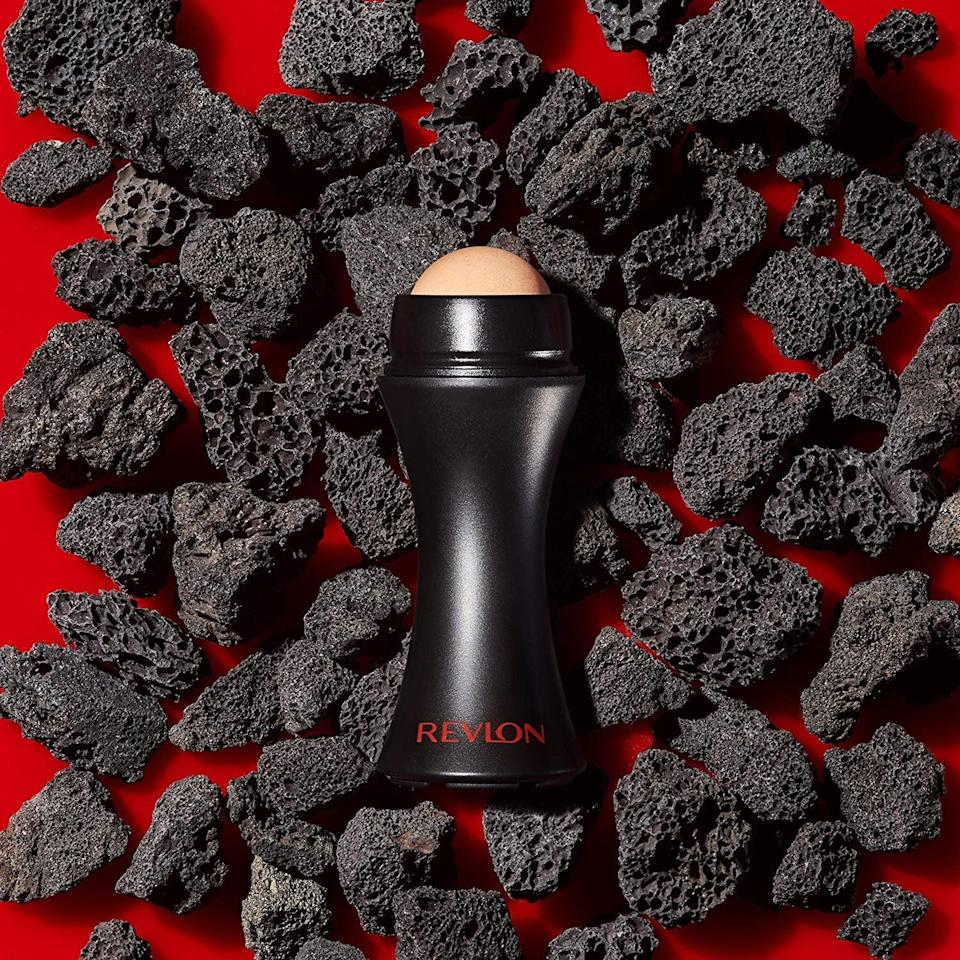 <p>Keep your skin looking fresh with this <span>Revlon Oil-Absorbing Volcanic Face Roller</span> ($10). It absorbs excess oil and is reusable!</p>