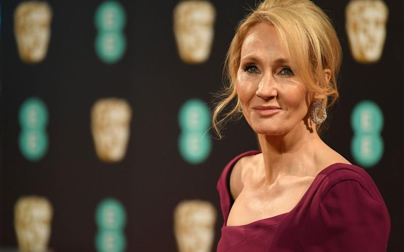 JK Rowling also landed a publishing deal worth millions - GETTY IMAGES