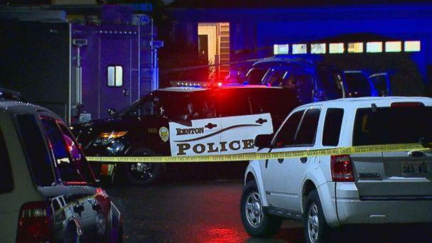 PHOTO: Police investigate a shooting at the home where Svetlana Laurel allegedly shot her 14-year-old daughter in Renton, Wash., on Tuesday, Dec. 18, 2018. (KOMO)