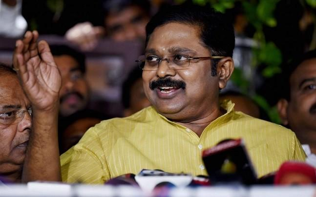 <p>TTV Dinakaran has hit out at PM Narendra Modi and Finance Minister Arun Jaitley following Income Tax department raids at the Poes Garden residence of late Jayalalithaa. </p>
