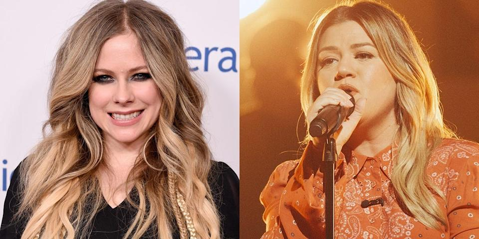 Kelly Clarkson and Avril Lavigne