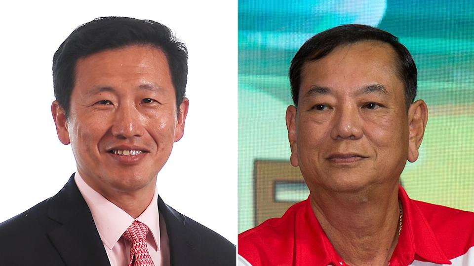 Health Minister Ong Ye Kung (left) and Progress Singapore Party's Secretary-General Francis Yuen (right) (PHOTOS: MCI / Yahoo News Singapore file photo)