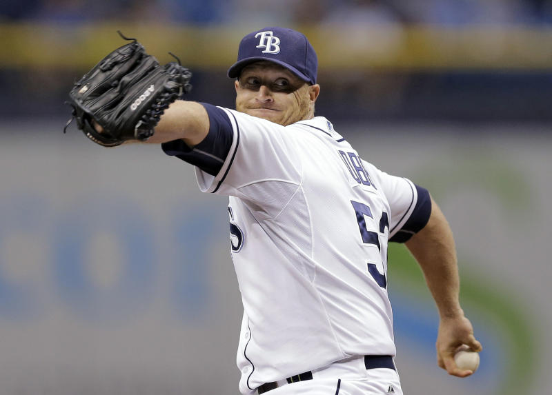 Cobb strikes out 12, Rays win 5-1