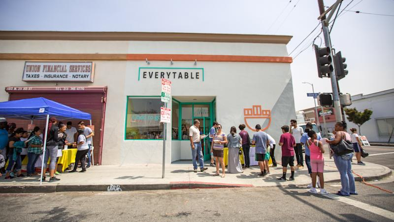 Everytable Hoover exterior healthy fast food in Los Angeles California