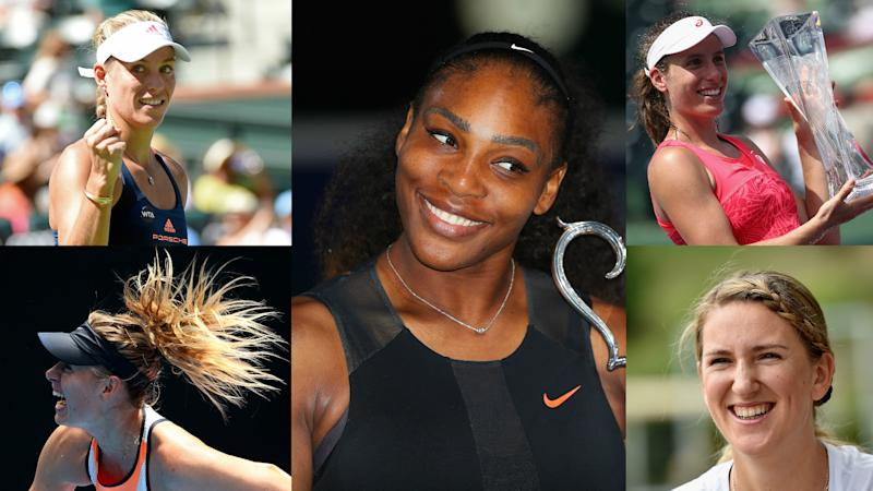 Who will replace Serena Williams as the WTA Tour ruler?