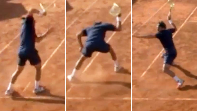Mario Vilella Martínez lost the plot. Image: ATP