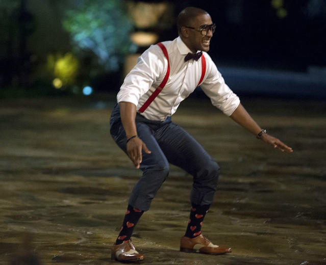 <p>Will on ABC's <i>The Bachelorette</i>. <br>(Photo: Paul Hebert/ABC) </p>