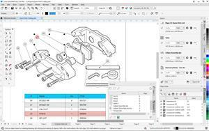 Illustrators can create detailed spare parts pages with complete control, thanks to a series of new features purpose-built to power discrete manufacturing workflows in CorelDRAW Technical Suite 2021.