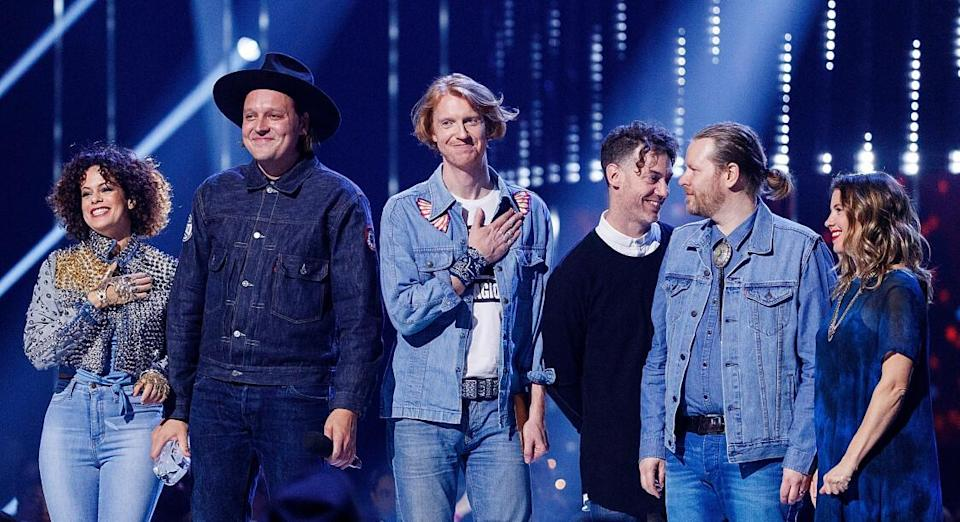 Arcade Fire Andrew Chin / GETTY IMAGES NORTH AMERICA / Getty Images via AFP
