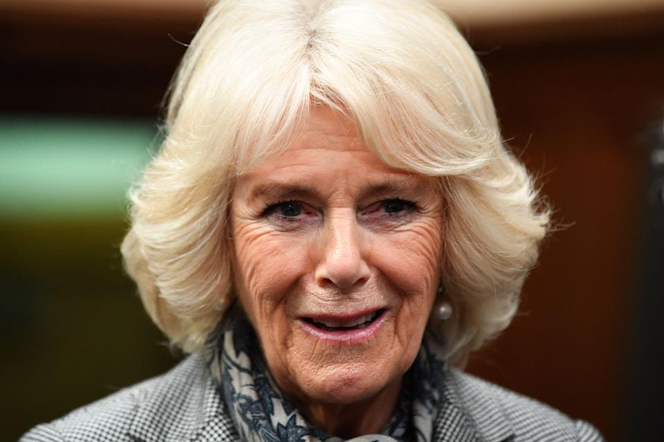 The Duchess of Cornwall visiting The Supreme Court in central London [Photo: Getty]