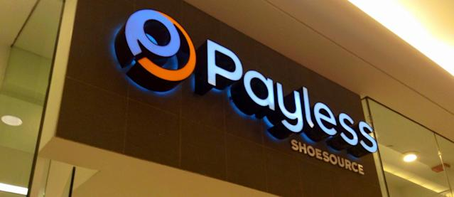 "<p><strong>Payless ShoeSource</strong><br>On April 5, the Kansas-based retailer announced it was <a href=""http://www.huffingtonpost.ca/2017/04/05/payless-bankrupt_n_15827138.html"" rel=""nofollow noopener"" target=""_blank"" data-ylk=""slk:closing nearly 400 stores. It currently has over 4,400 stores in 30 countries."" class=""link rapid-noclick-resp"">closing nearly 400 stores. It currently has over 4,400 stores in 30 countries.</a><br>(Mike Mozart/Creative Commons) </p>"