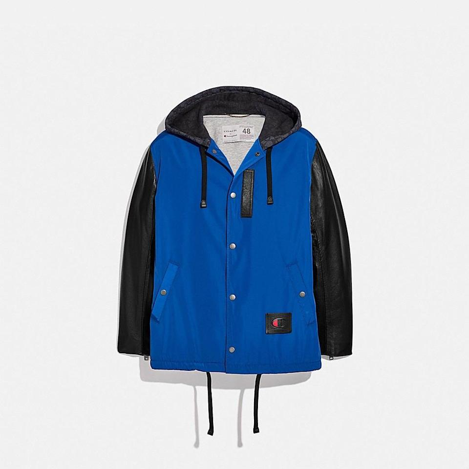 <p><span>Coach x Champion Coaches Jacket</span> ($795)</p>