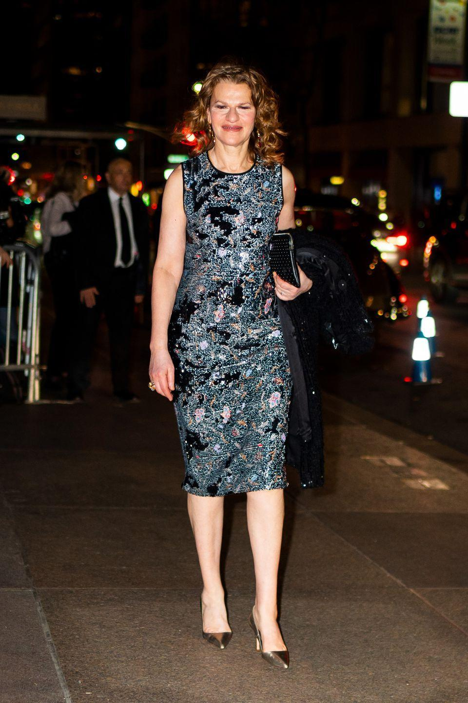 <p>The actress stepped out in New York for the big day.</p>
