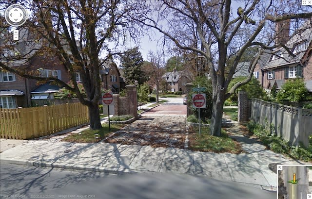 Google Maps: Tree Density Tells the Story of Income Inequality