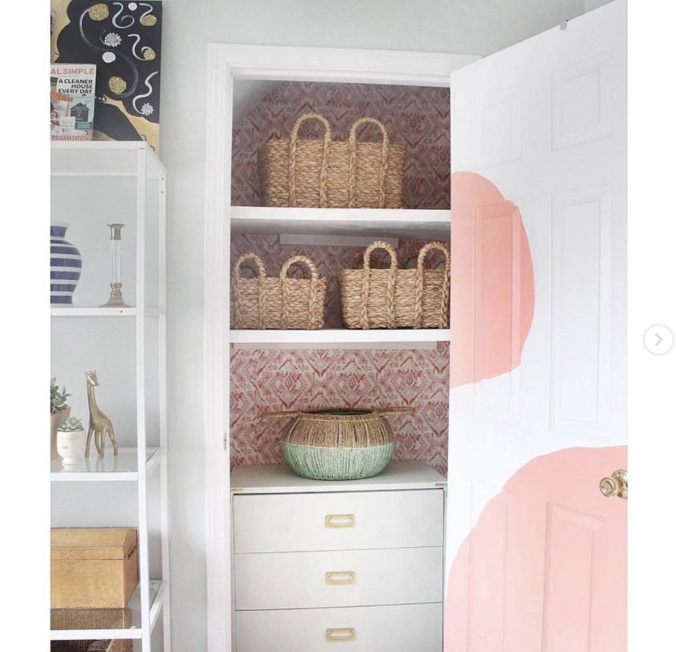 "<p>If your closet doesn't have built-ins, you can maximize any extra space under shelves or a hanging rod by placing a dresser inside. </p><p>See more at <a href=""https://www.instagram.com/p/CIi-Awfnw8g/"" rel=""nofollow noopener"" target=""_blank"" data-ylk=""slk:Live Pretty on a Penny"" class=""link rapid-noclick-resp"">Live Pretty on a Penny</a>. </p>"