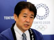 Tokyo 2020 Olympic Committee's Games Delivery Officer Hidemasa Nakamura speaks during an interview with Reuters in Tokyo