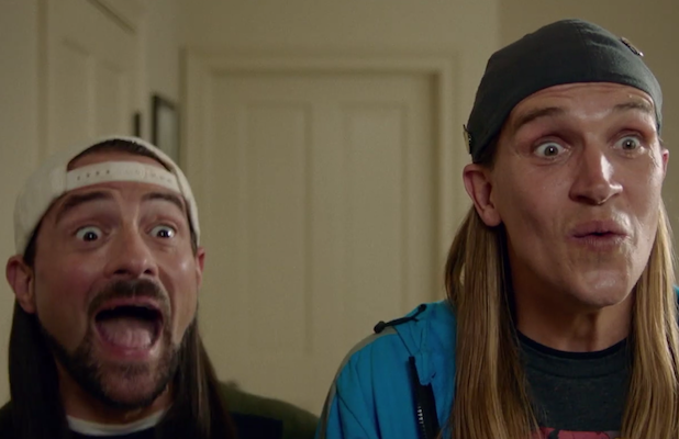 'Jay and Silent Bob Reboot' Trailer: Kevin Smith and Jason Mewes Try to Stop Another Bad Remake (Video)
