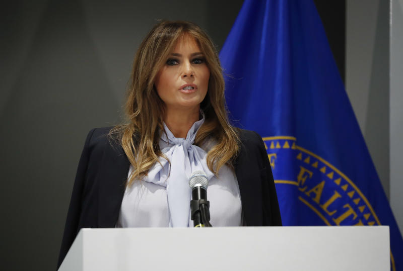 Trump sends mean tweets, first lady talks positivity online