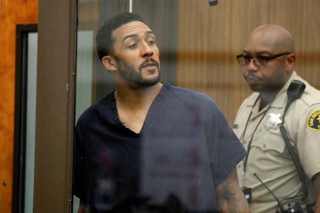 Former NFL football player Kellen Winslow Jr. is in trouble with the law again. (AP)