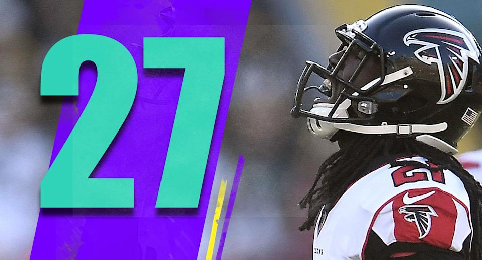 <p>Is there another team that wants the season to end more than the Falcons? Being down 34-7 at Green Bay through three quarters says all you need to know. (Desmond Trufant) </p>