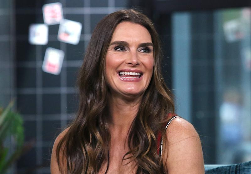 NEW YORK, NEW YORK - SEPTEMBER 24: Actress Brooke Shields attends the Build Series to discuss SculpSure at Build Studio on September 24, 2019 in New York City. (Photo by Jim Spellman/Getty Images)
