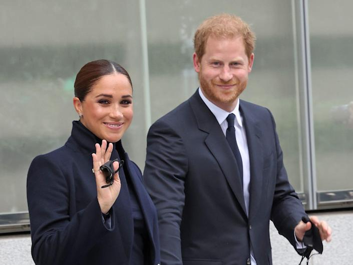 Harry and Meghan NYC