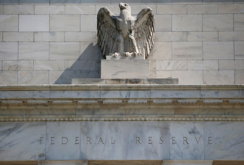 FILE PHOTO: Federal Reserve building pictured in Washington