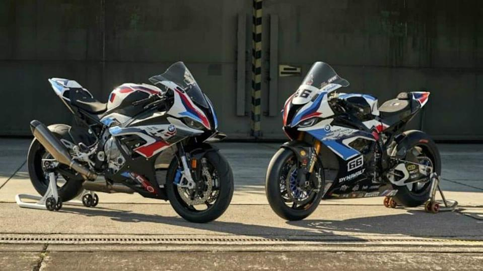 This BMW sports bike costs more than Mercedes-Benz A-Class Limousine