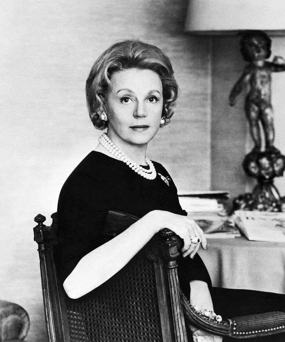 """<h2>The Real Eleanor Lambert</h2><br>If you want to hear about a woman who made a long-lasting impact on the fashion world without ever designing so much as a handkerchief, look no further than Lambert. Though she started out a publicist for the Whitney Museum of American Art, she eventually made the shift into fashion. <br><br>In 1943 she founded New York Fashion Week, significantly raising the profile of American fashion all over the world. She's also the founder of the Council of Fashion Designers of America (CFDA). Shortly after organizing CFDA, in 1965, President Lyndon Johnson named her to the National Council on the Arts of the National Endowment for the Arts. She also started the International Best Dressed Hall of Fame List, and prior to her death <a href=""""http://www.vanityfair.com/style/2015/08/international-best-dressed-list-history-eleanor-lambert"""" rel=""""nofollow noopener"""" target=""""_blank"""" data-ylk=""""slk:left it in the hands"""" class=""""link rapid-noclick-resp"""">left it in the hands</a> of """"four friends at <em>Vanity Fair</em>."""" <span class=""""copyright""""> Photo: Bettmann/Getty Images.</span>"""